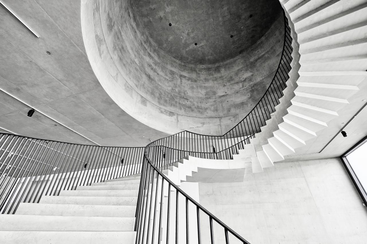 Deutschlandhaus Berlin Sichtbeton Sichtbetonretusche Restaurierung Sichtbetondecke Spannbetondecke
