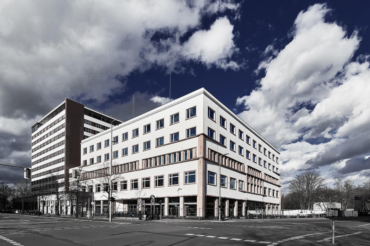 Deutschlandhaus: Restaurierung am Neubau